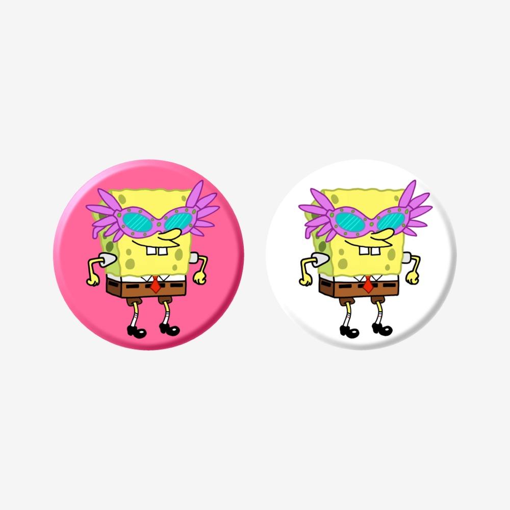 Spongebob pink glasses